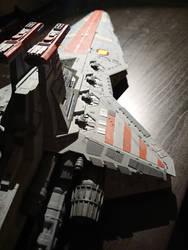 Republic Star Destroyer - Revell model (2)