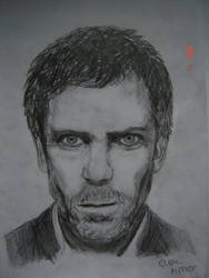 Drawing - Dr. House