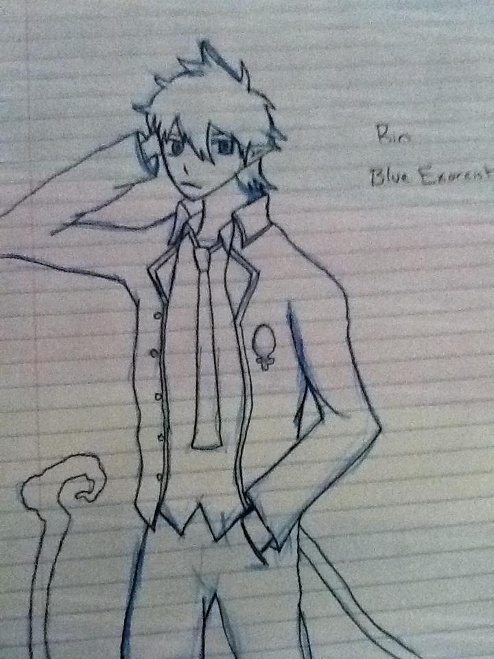 Rin Okumura by ScrewAndBall