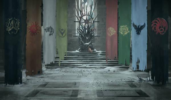 Winter in King's Landing by RustyPulley