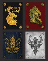 Custom Game of Thrones Cardbacks 2 by RustyPulley