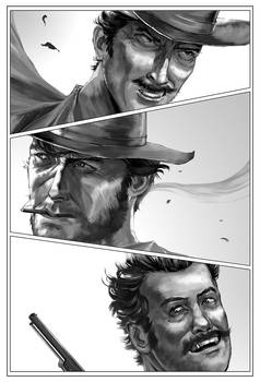 A Tale Of Three Gunslingers