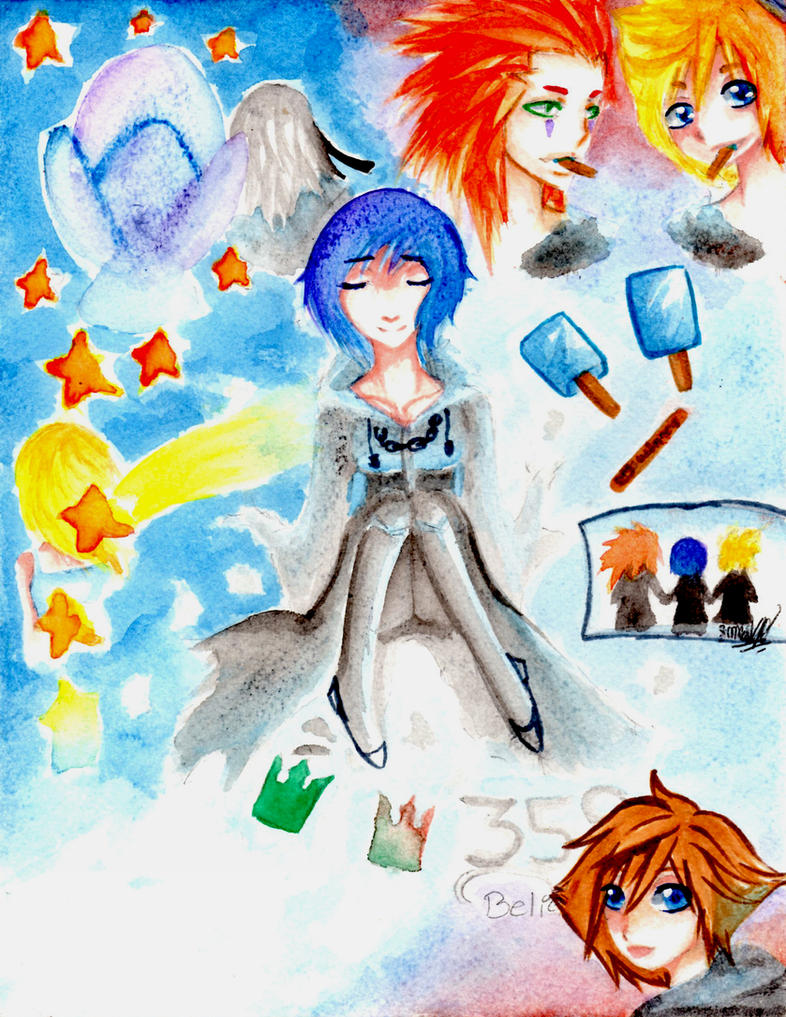 KH|My Life.... by MerrySadness