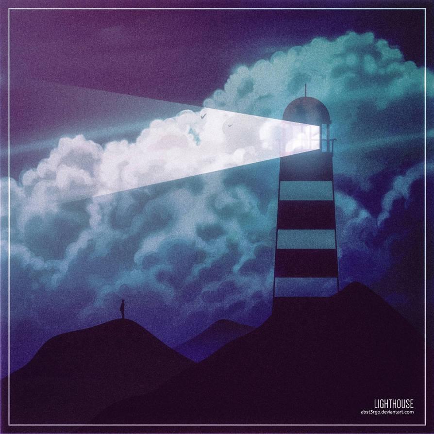 lighthouse by abst3rgo