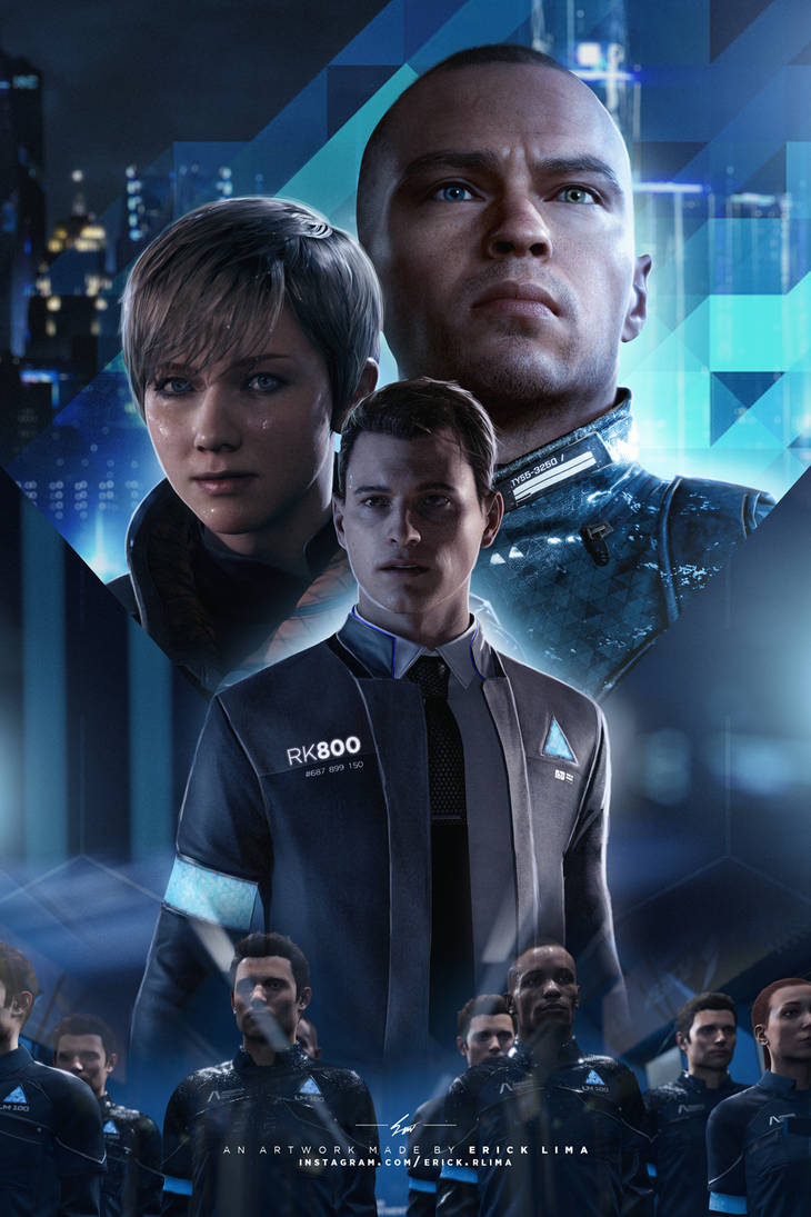 Detroit Become Human - Movie Poster - Clean by abst3rgo on DeviantArt