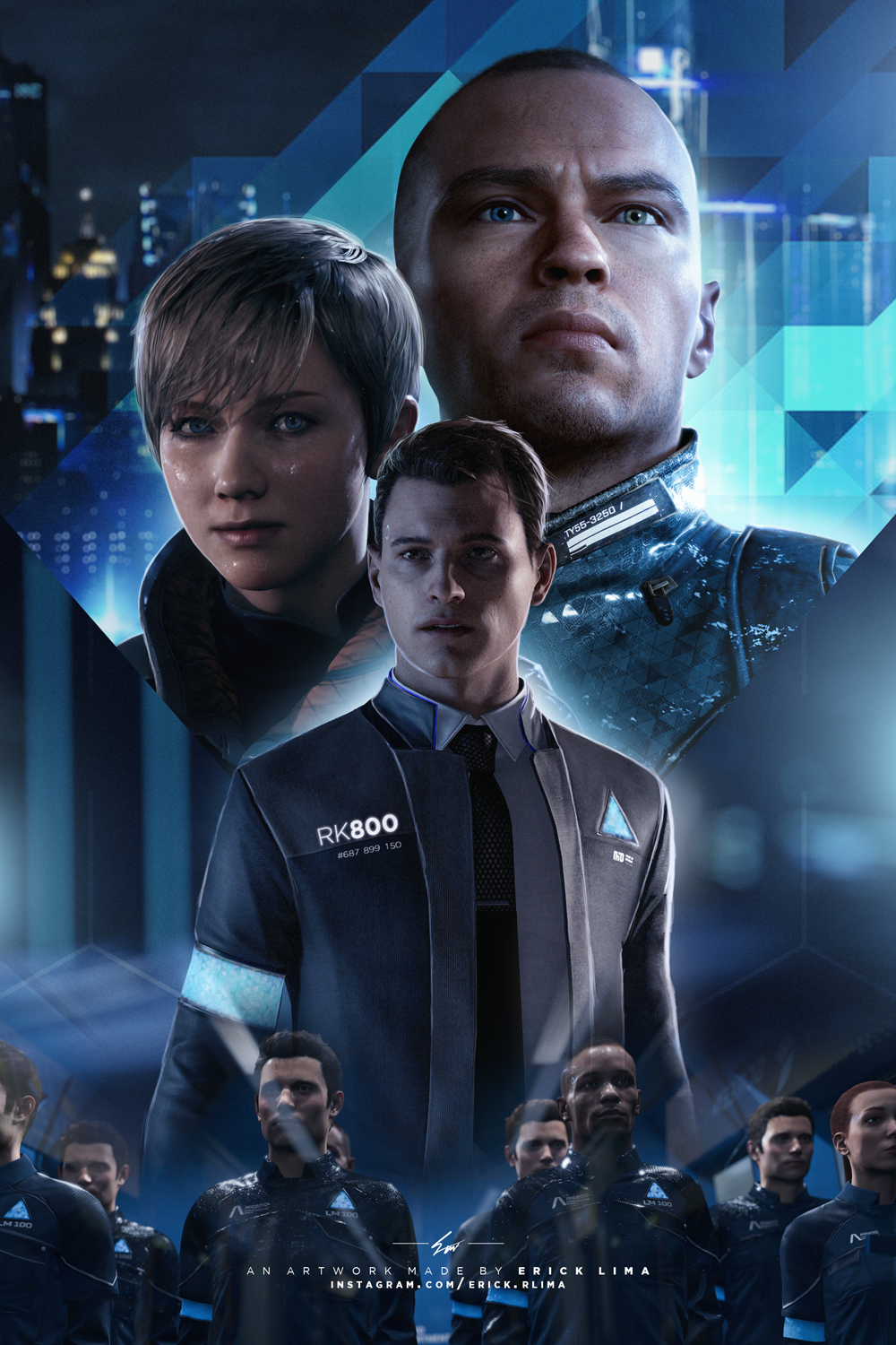 Detroit Become Human - Movie Poster - Clean