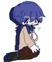small lil kaito by pawonbelly