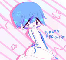 NAKED APron by pawonbelly
