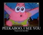 Patrick sees Heart Man