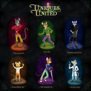 Uniques United - Meet The Characters