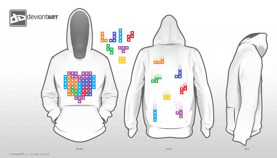 8-Bit Hoodie Design :3 by Dementor67