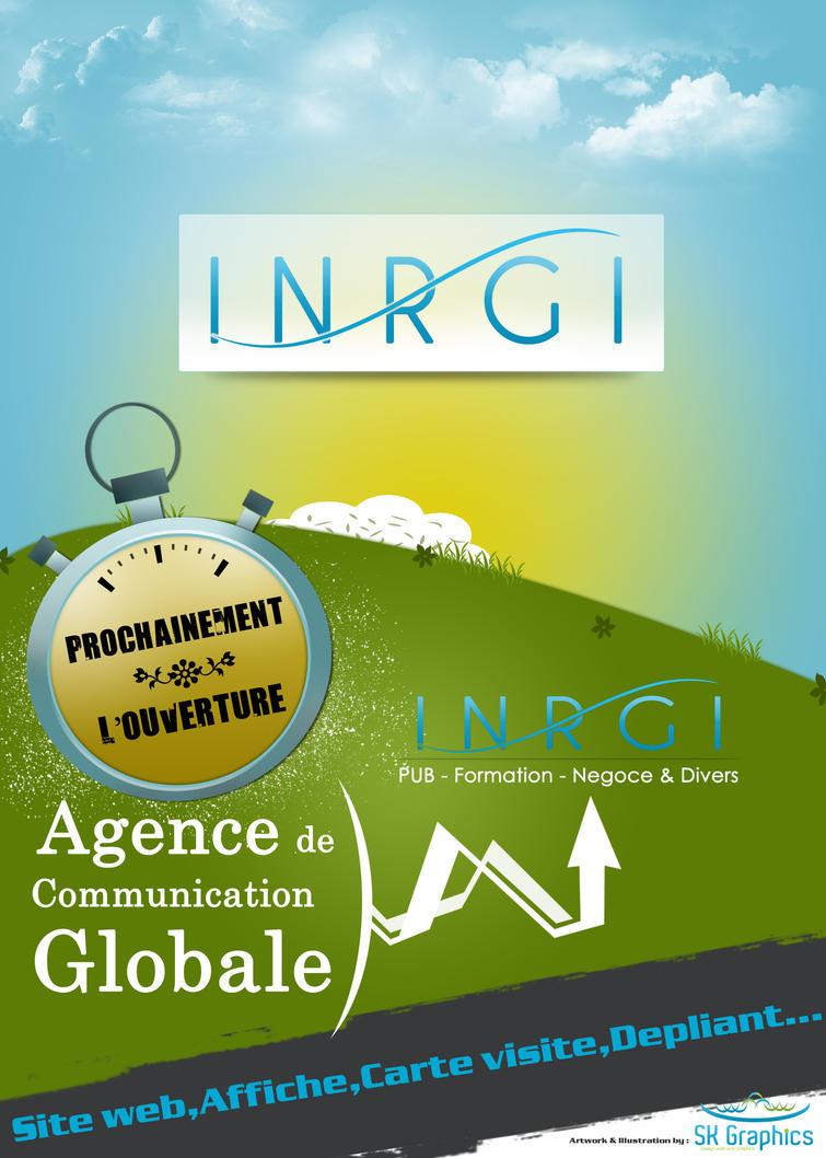 INRGI Pub Affiche by sk-design