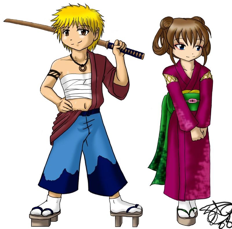 Anime Banzai - mascots 09 by Pan-Pan