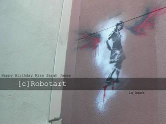 Birthday Graffiti by PublicArtMunkie