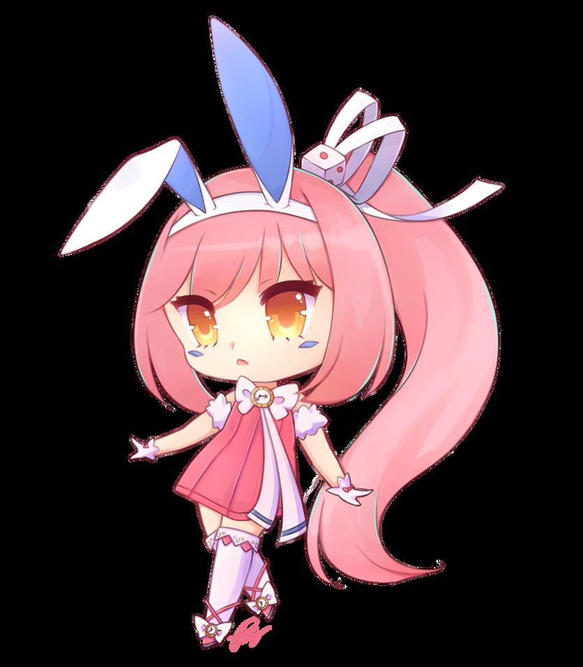 {Art Trade} LunaNiji by sweet-Ouii