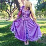 ::Rapunzel Cosplay:: Should I? No! Here I go.