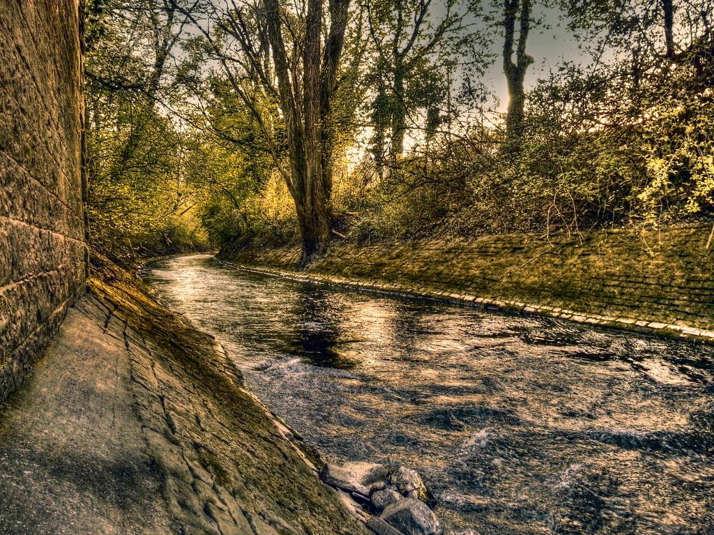 Der kleine Fluss in den Rhein by Examurai