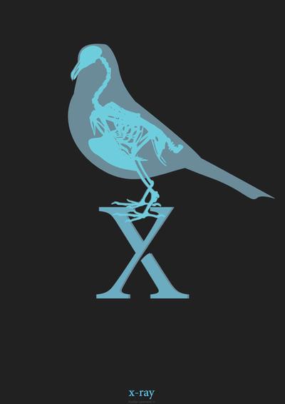 X Alphabet by KuldarLeement