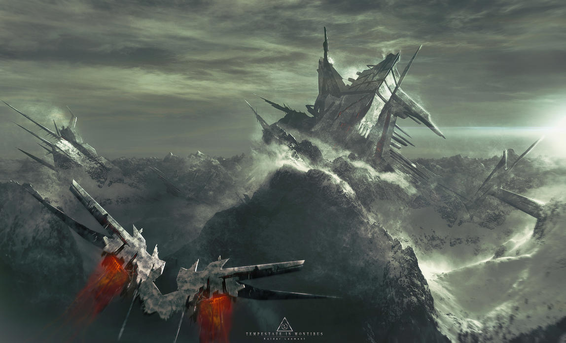 Tempestate in montibus by KuldarLeement