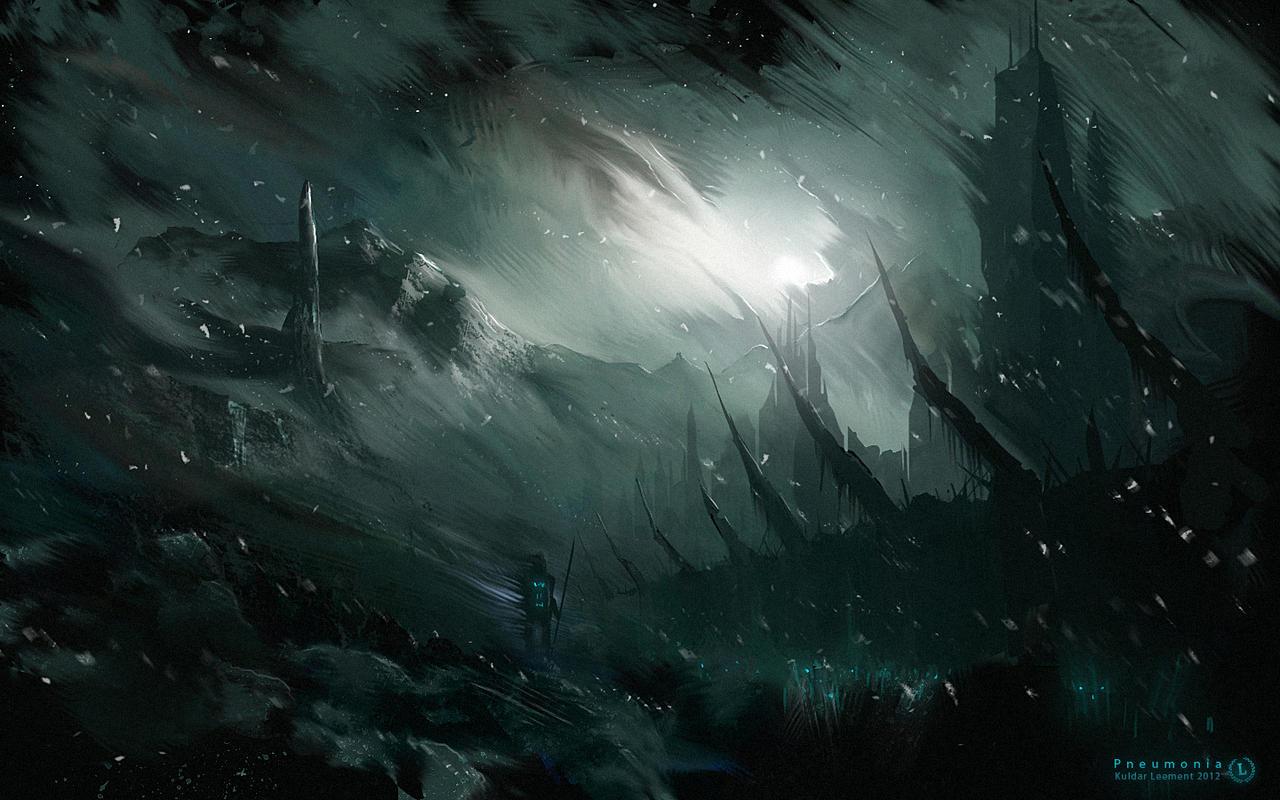 Pneumonia by KuldarLeement