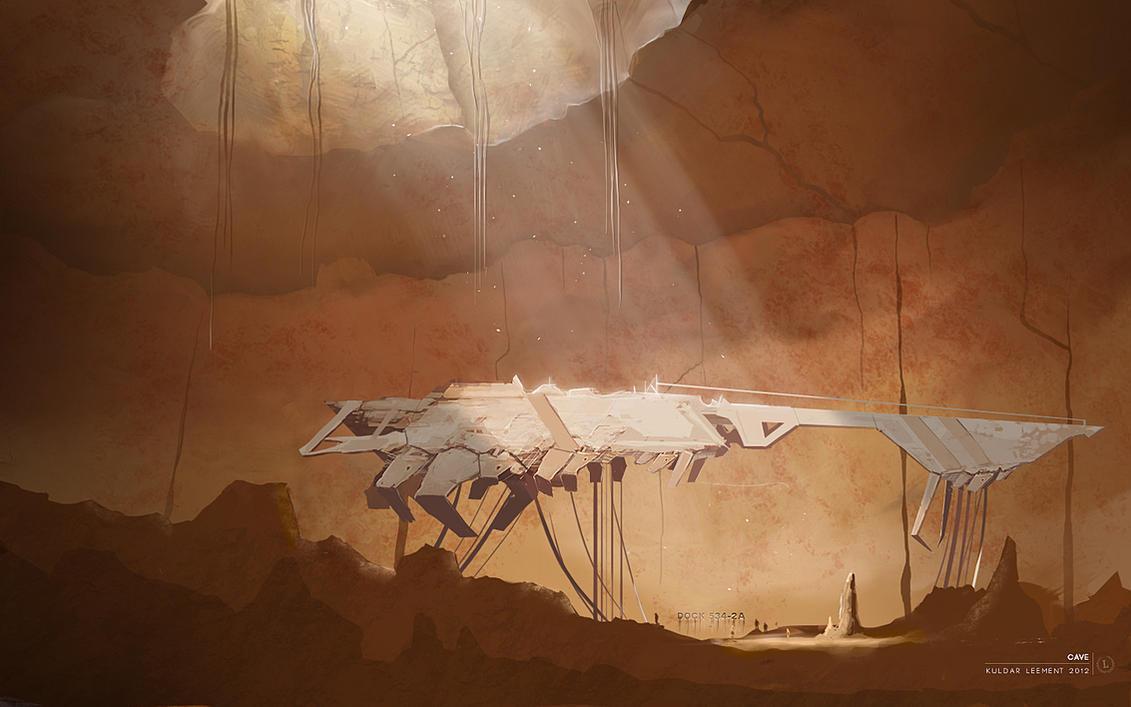 Cave by KuldarLeement