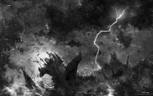 Black wave by KuldarLeement