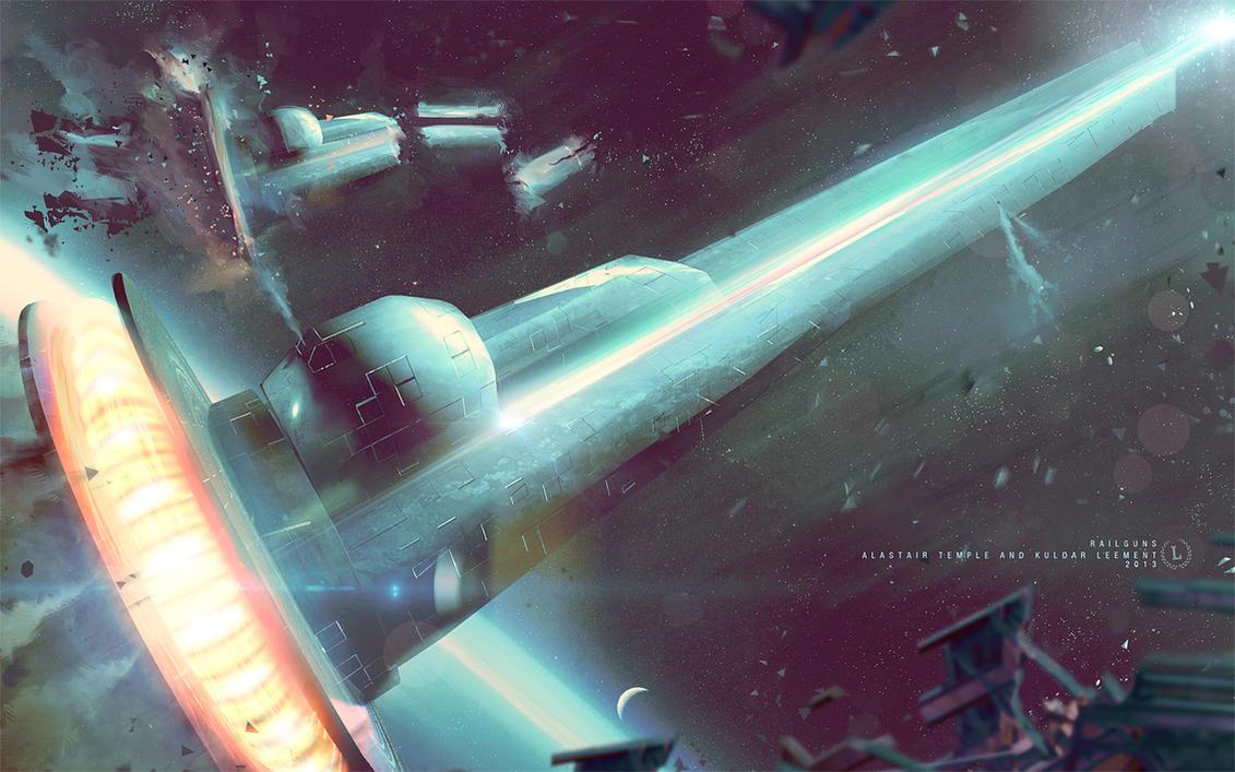 Railguns. by KuldarLeement