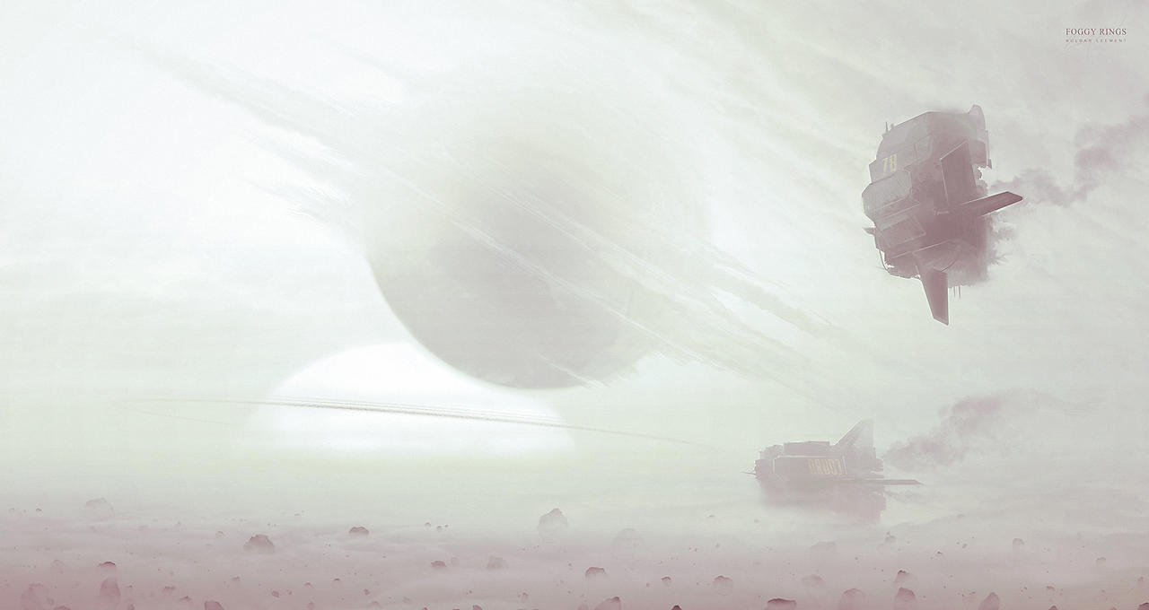 Foggy rings by KuldarLeement