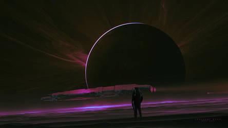 Crescent Moon by KuldarLeement