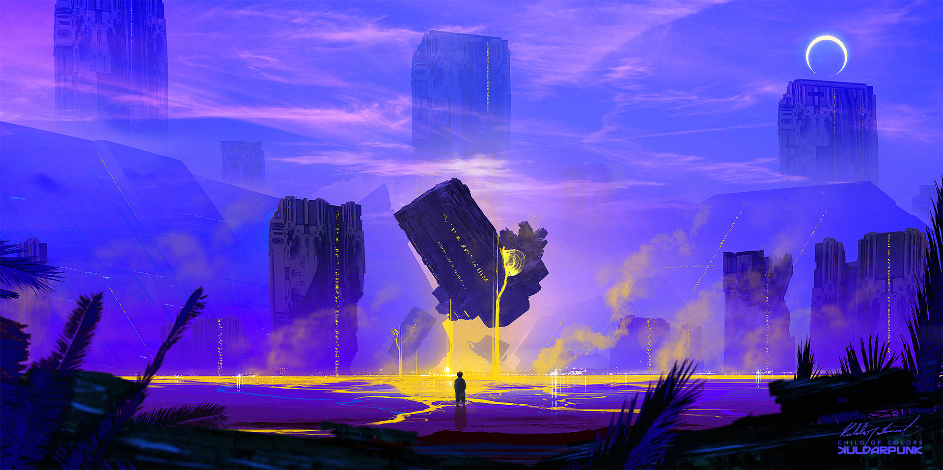 Child of colors by KuldarLeement