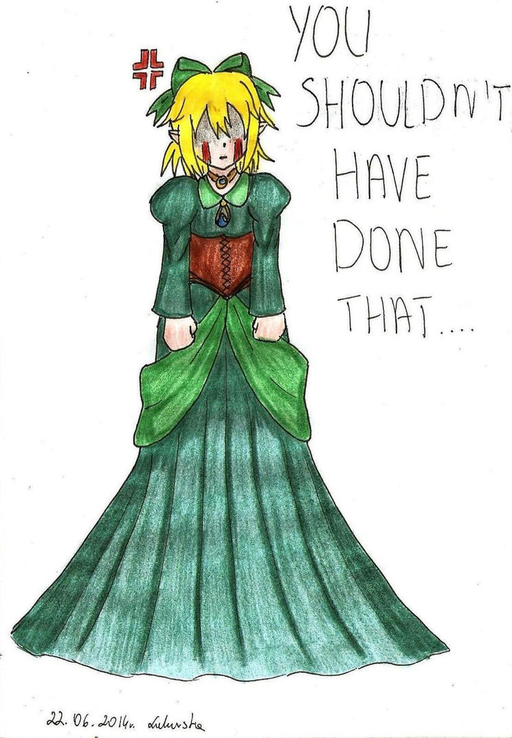 BEN in a dress by Lukusta