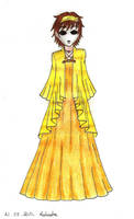 Masky in a dress