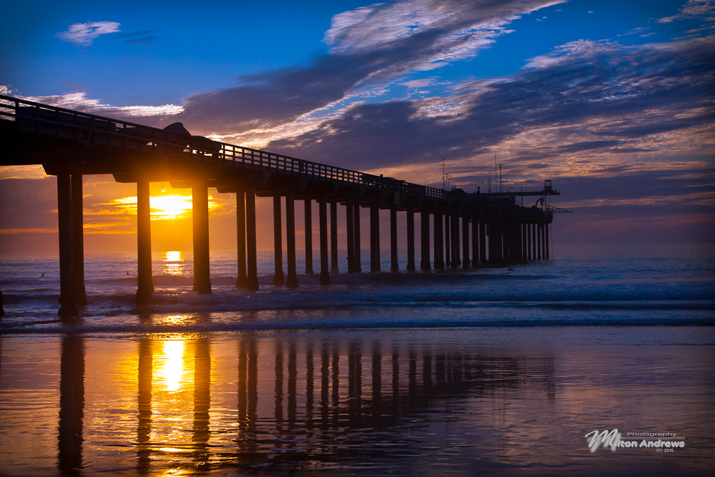 Scripps Pier by Milton-Andrews