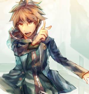 No, that's wrong!!    Makoto, Danganronpa fanart