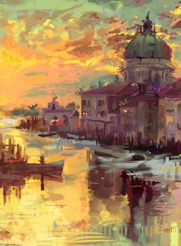 Venice painting study