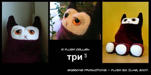 a plush called TRI