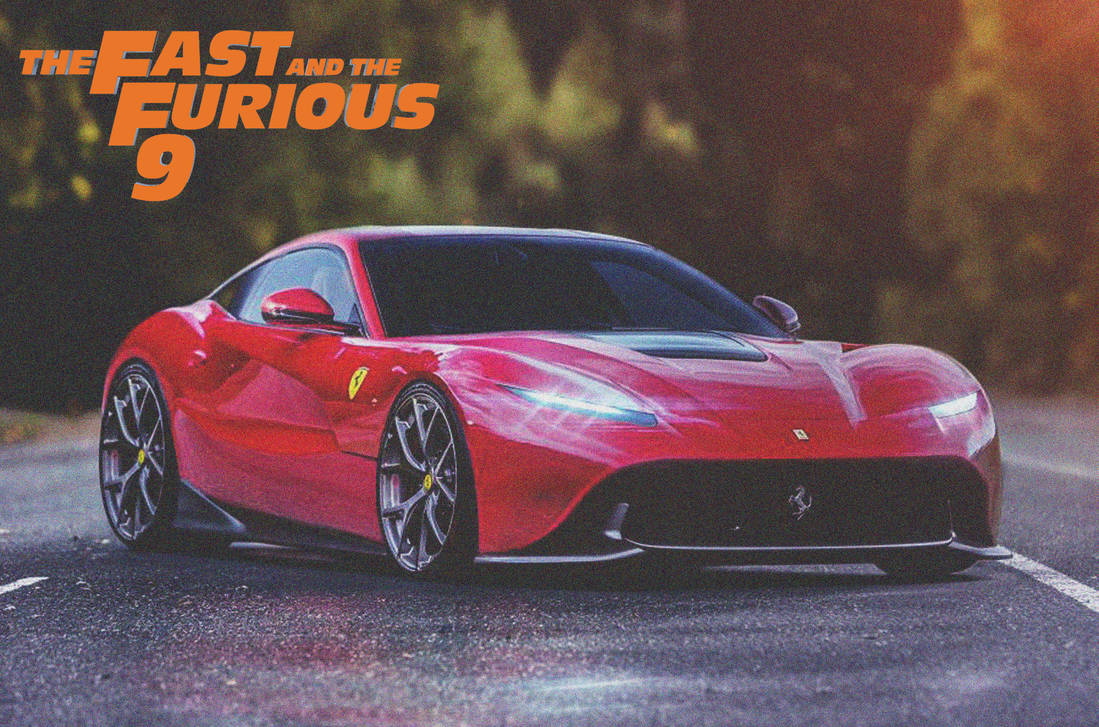Ferrari F12 Berlinetta 2020 Fast And Furious 9 By Artconcept777 On