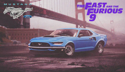 Ford Mustang GT Mach 1 '2020 Fast And Furious 9