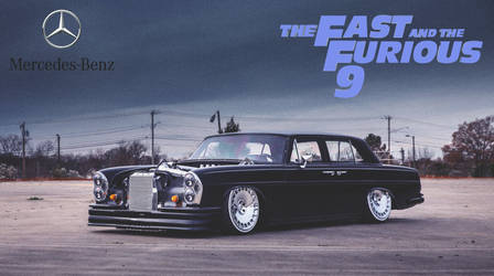 Mercedes-Benz 220 SB Low '1965 Fast And Furious 9