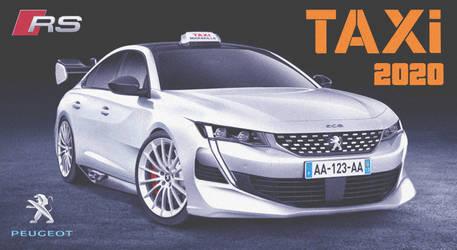 Peugeot 508 RS Taxi '2020 Ver. 2 Fan Art by ArtConcept777