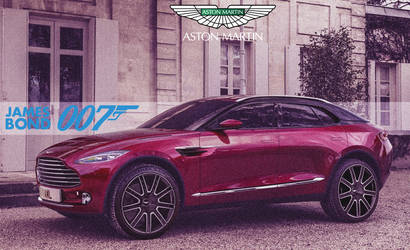 Aston Martin DBX '2020 James Bond 007 by ArtConcept777