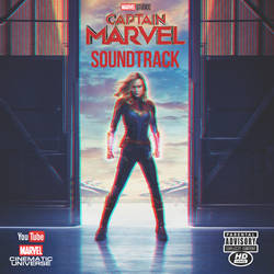 Captain Marvel Soundtrack (2019) FanCover 4 by ArtConcept777