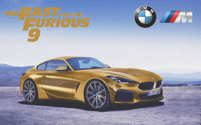 BMW Z4 M Coupe '2020 Fast And Furios 9 by ArtConcept777