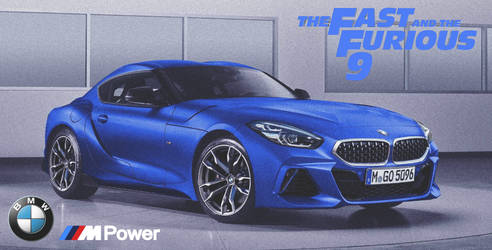 BMW Z4 Coupe '2020 Fast And Furious 9 by ArtConcept777