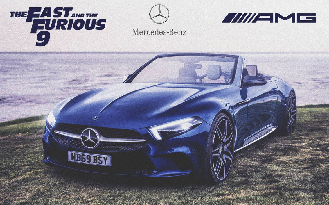 Mercedes-Benz SLC GT AMG '2020 Fast And Furious 9 by ArtConcept777