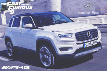 Mercedes-Benz GLB AMG '2020 Fast And Furious 9 by ArtConcept777