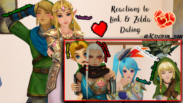 Is link dating zelda