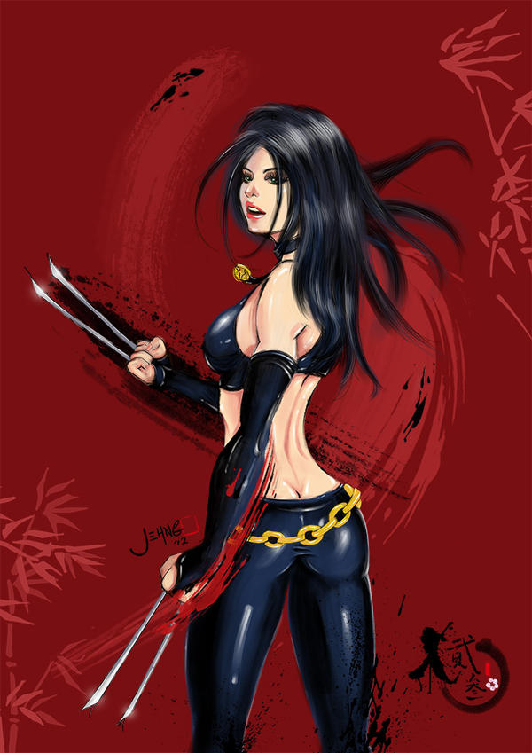 X-23 RED by gothichand