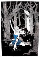Devil in a Blue Dress by DojiArai