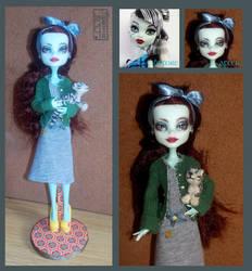 Laila - Monster High custom doll by DojiArai